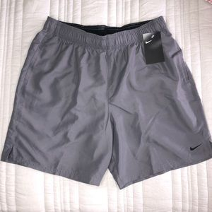 Nike Embroidered Logo Volley Swimmer Shorts Mens